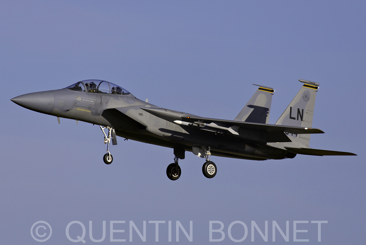 USAF McDonnell Douglas F-15D LN 84-044