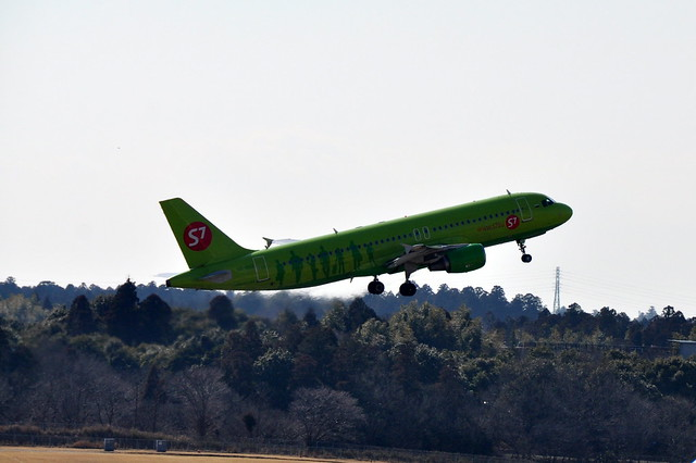 A321-200 S7 Airlines