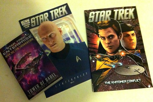 New Trek stuff arrives Down Under