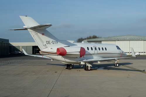 OE-GYP Hawker 900XP by Guernsey Airport Photography