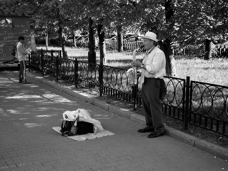 Moscow Walks #05 - «Fairy tales of the Old saxophone»