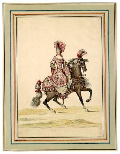 007-Carrousel des galans Maures de Grenade…1685- Jean Berain- INHA