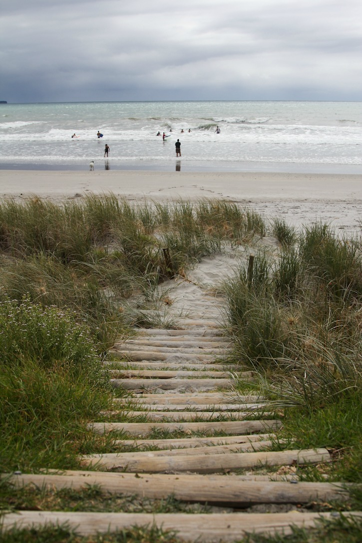 Beach in Bay of Plenty area in New Zealand I @SatuVW I Destination Unknown