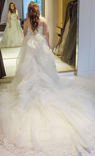 豐腴女孩也能挑到漂亮婚紗33