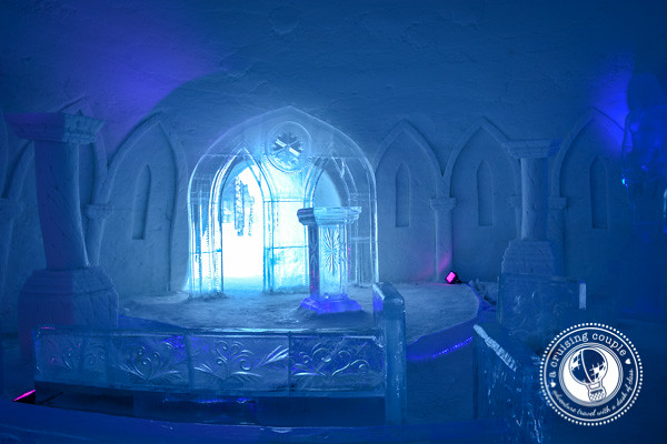 That Time We Slept In a Hotel Made of Snow – Our Experience at the Snow Village, Finland- Snow Village Finland Wedding Chapel