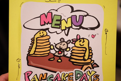 menu book PANCAKE DAYs 33