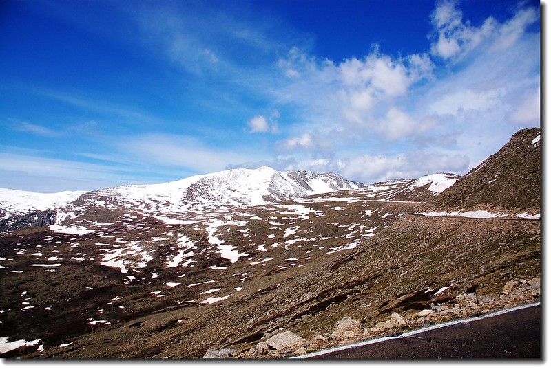 Overlooking Mount Evans