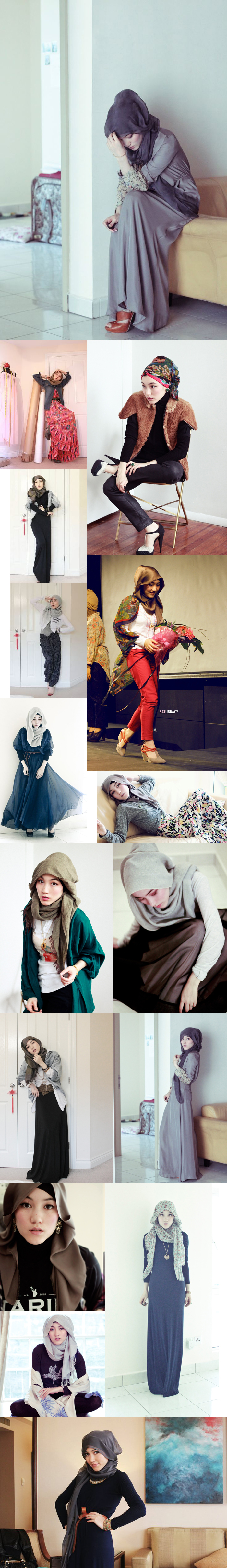 hana tajima, hijab style, her fashion, fashfaith, Muslim fashion