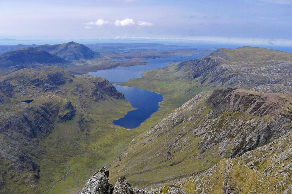 Dubh Loch and Fionn Loch