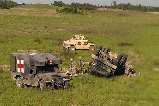 206th  Rollover training 05