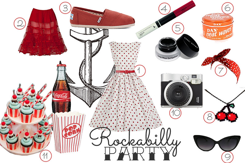 rockabilly party outfit