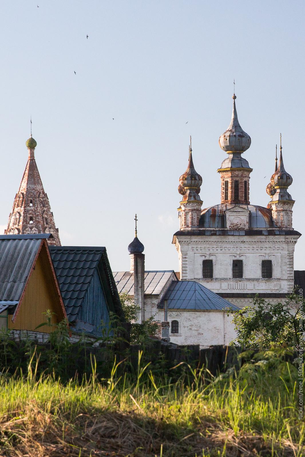 Храмы монастыря в Юрьеве-Польском