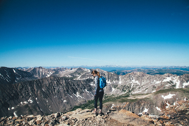 Summit of Quandary Peak