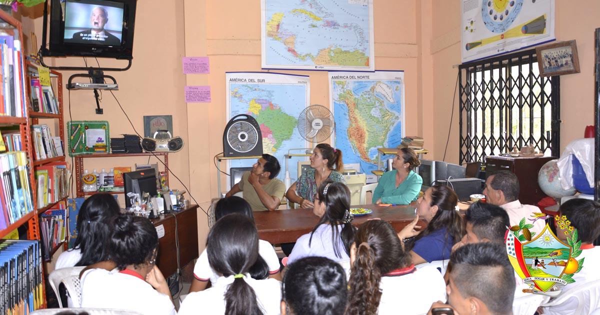 Proyecto Amor fue presentado a estudiantes de la Unidad Educativa Delberth Velásquez