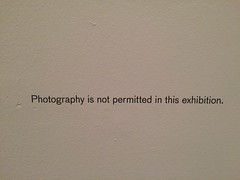 Photography not allowed.