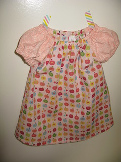 Apples Sweet Little Dress