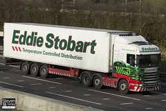 Scania R440 6x2 Tractor - PE11 LNA - Katie Anne - Eddie Stobart - M1 J10 Luton - Steven Gray - IMG_3263