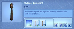 Outdoor Lamplight