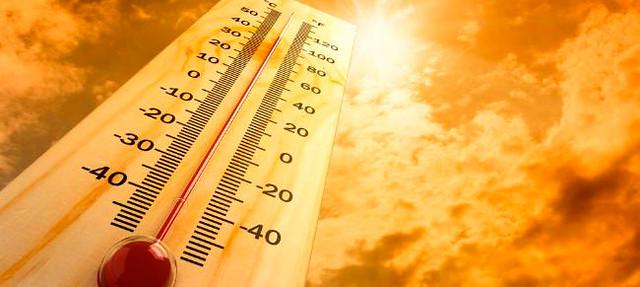 Temperaturas altas en verano