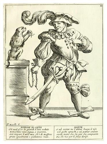 009-Bufon de corte- Le ventiqvattr' hore dell' hvmana felicità…-1675--Giuseppe M. Mitelli