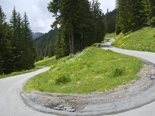 Road to Sillerenbühl