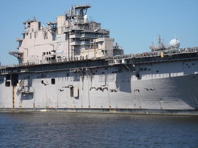 River Cruise Aircraft Carrier Ship Boneyard  Flickr