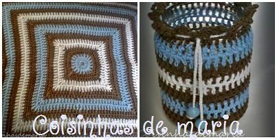 Capa de almofada e vidro reciclado para decoração by Coisinhasdemaria
