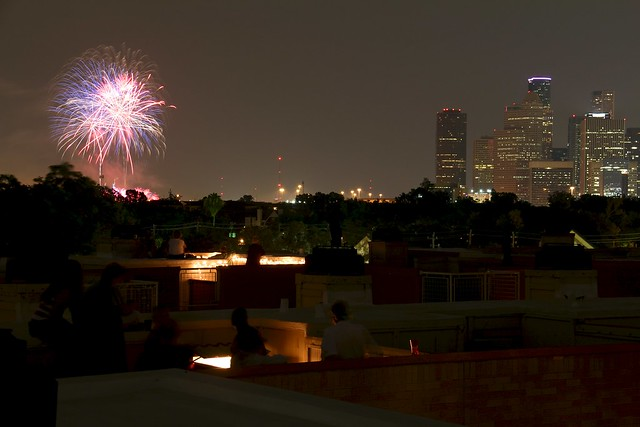 Independence Day in Houston