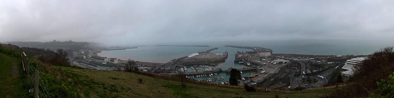 Panorama du Port de Dover