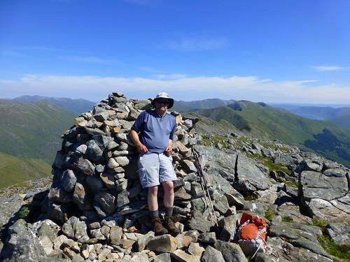 Me on Sgurr na Ciste Duibhe Munro No1