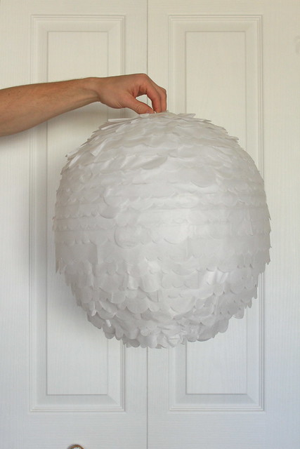 DIY Tissue Paper Light