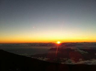 Haleakalā National Park - sunset