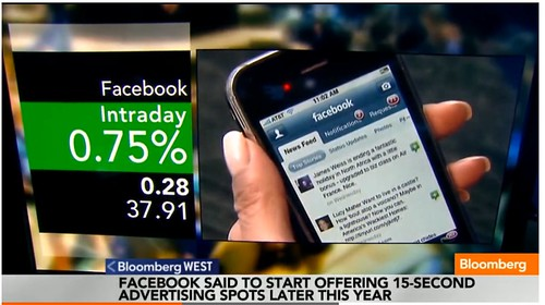 Facebook Said to Plan to Sell TV-Style Ads for $2.5M Each - Bloomberg