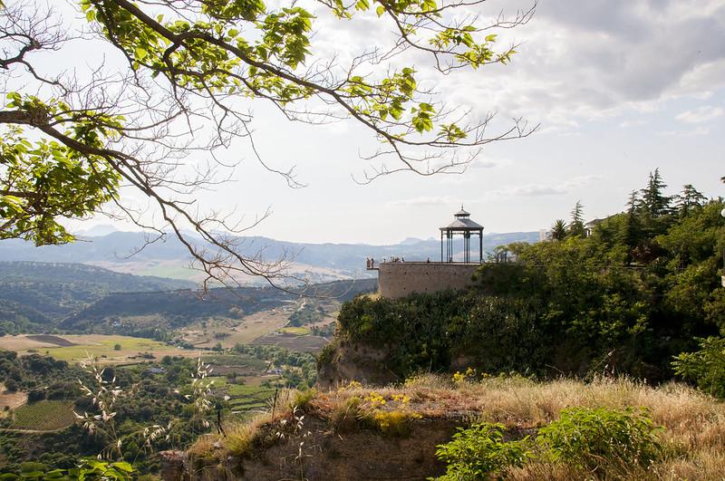 Ronda, Spain - gazebo