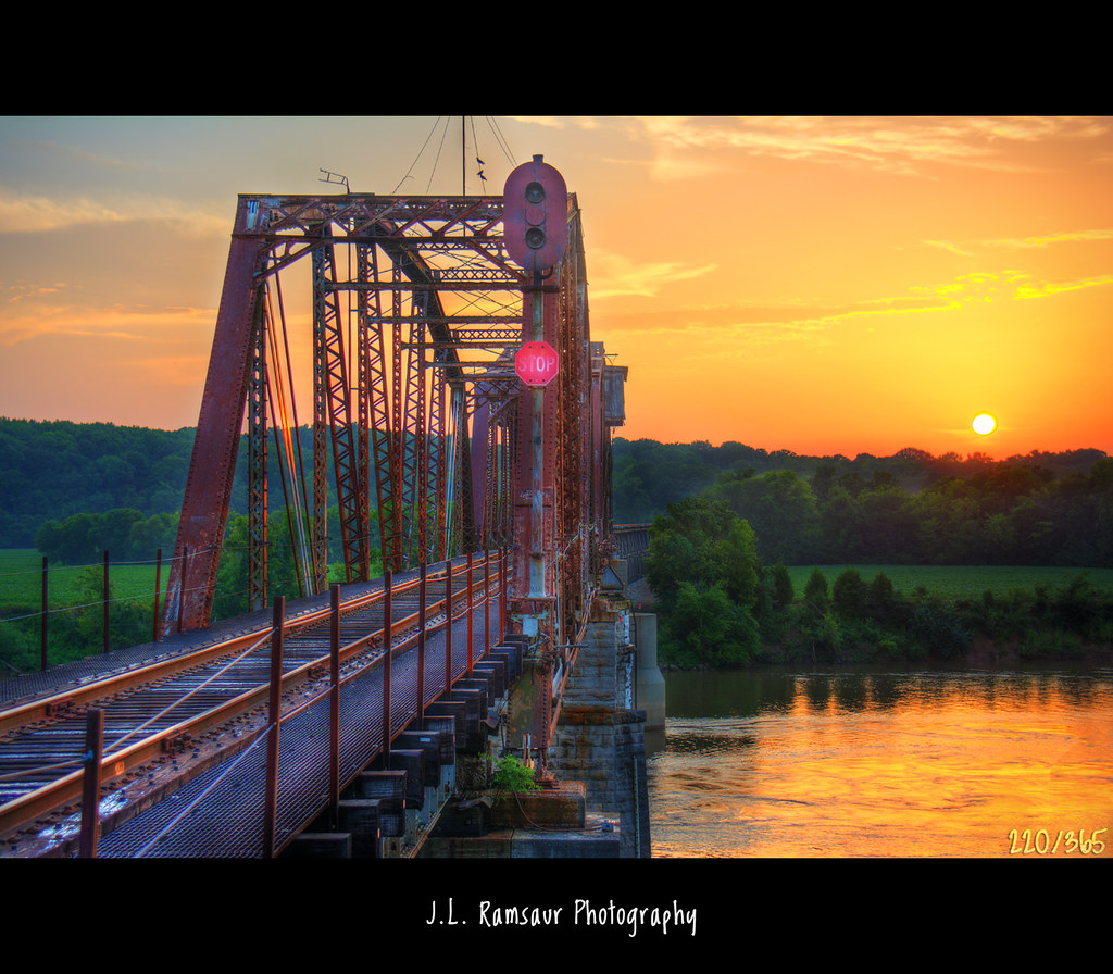 Elevation of cumberland heights rd clarksville tn usa maplogs old bridge sunset orange sun sunlight nature yellow clouds rural sunrise landscape outdoors photography photo nikon sciox Image collections