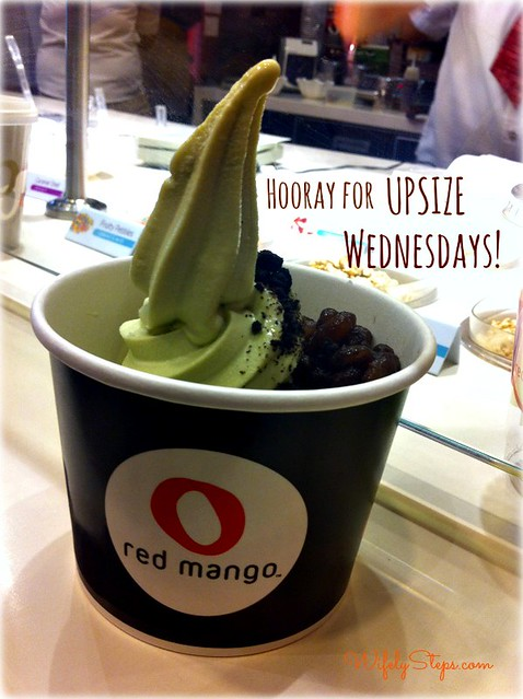 Red Mango Upsize Wednesdays