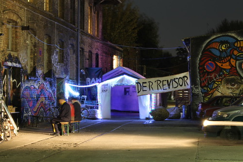 Пьеса Ревизор в берлинском центре современного искусства RAW Tempel