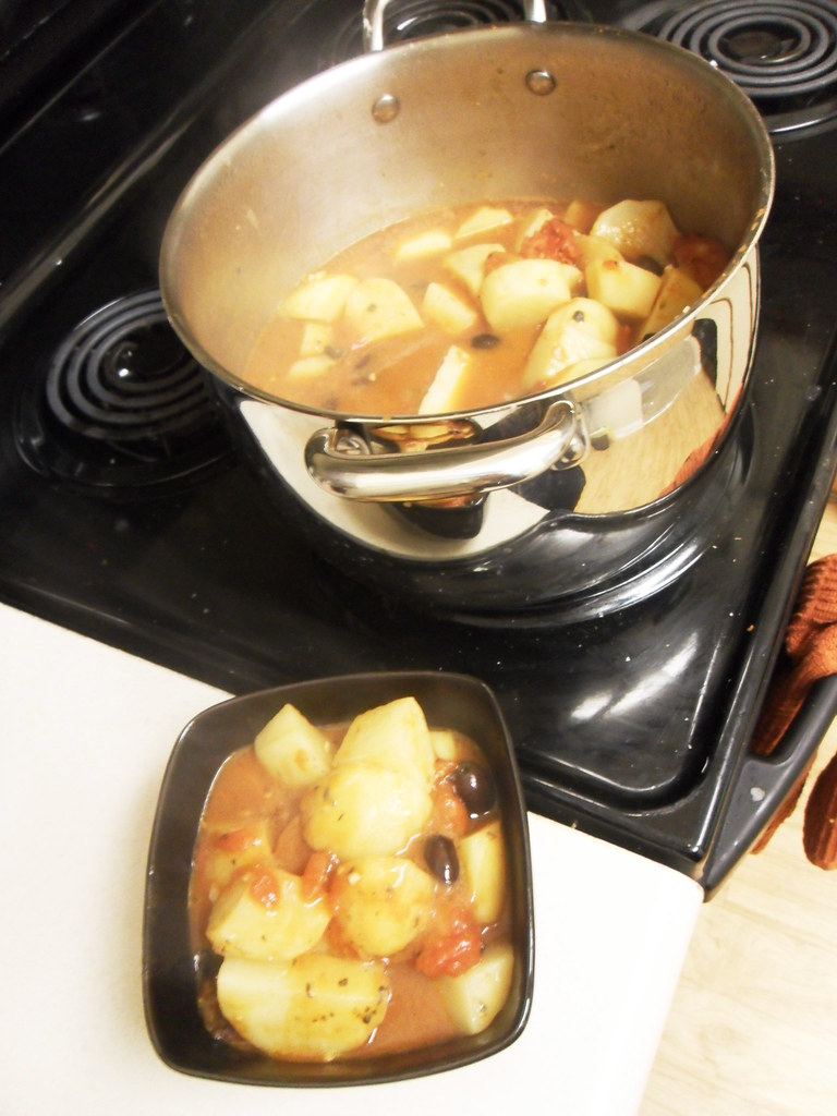 Simple. Easy. Vegetarian!: Greek Potato and Olive Stew