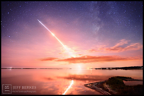 Amazing LADEE Launch and Milkyway