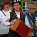 Small photo of Sowerby Bridge Rushbearing Festival: Accordionist