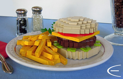 Burger Time! — BrickNerd - Your place for all things LEGO and the ...