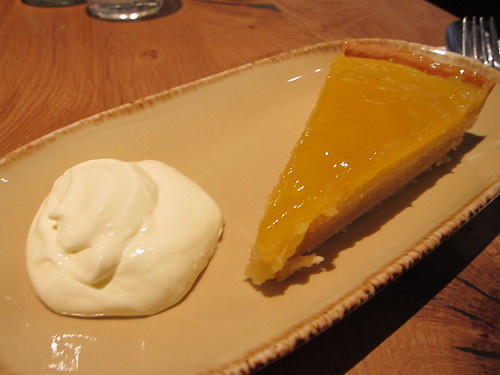 clockjack oven - lemon tart