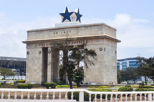 Independence square, Accra