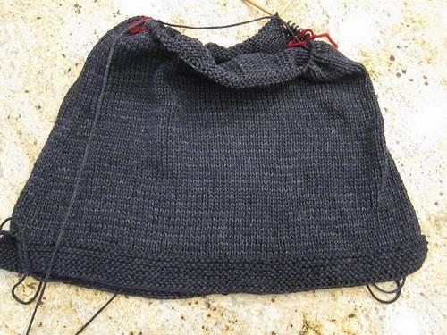 Honeycomb Collar Pullover