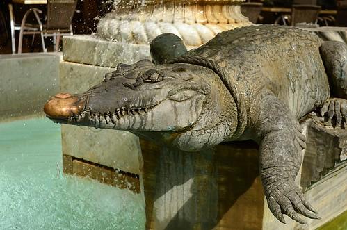 The crocodile of Nîmes
