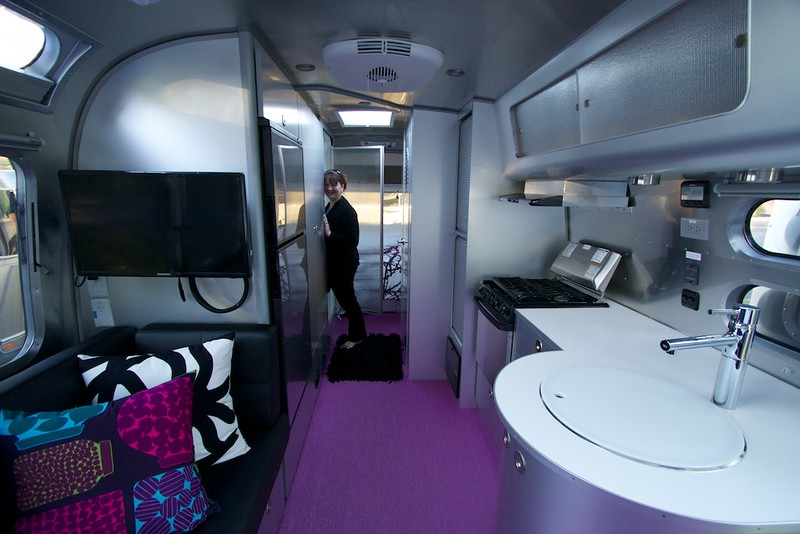 Inside a brand new airstream (only $89,900....)