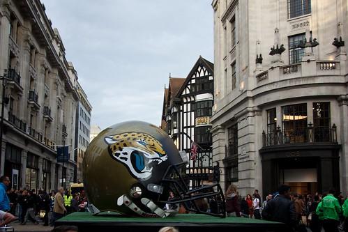 NFL in Regents Street
