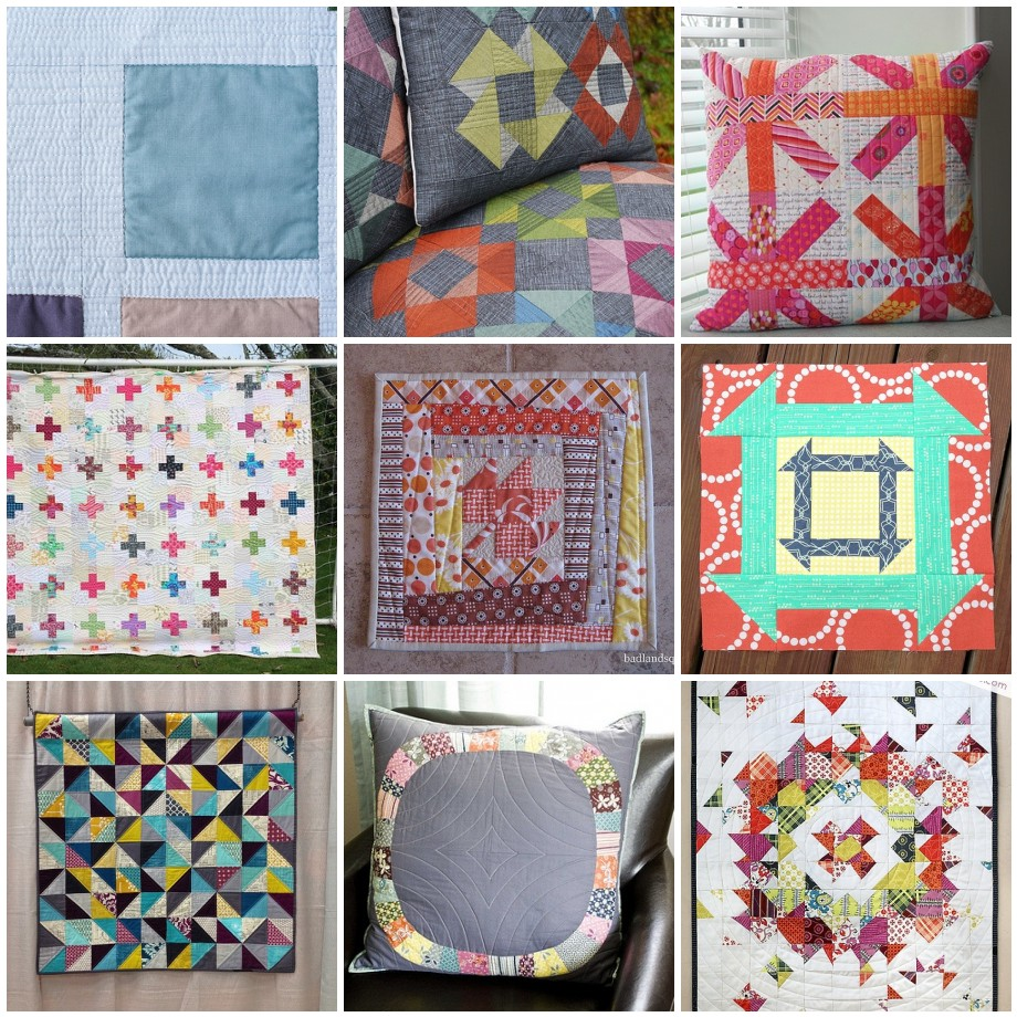 Mini Quilt Swap Inspiration Mosaic