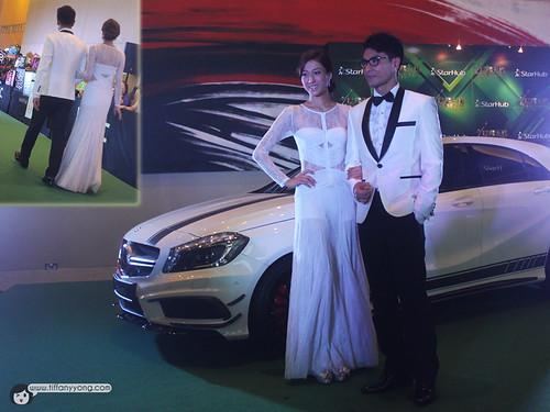 Linda Chung 鍾嘉欣 and Ruco Chan 陳展鵬
