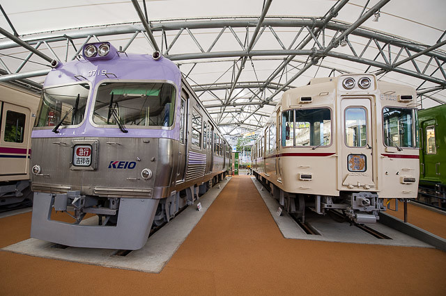京王れーるランド 展示車両 クハ3719 クハ5723